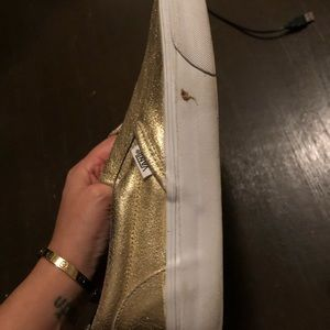 Vans Shoes - Gold Vans